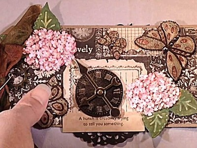 Joy Crafts! Fantasy Flowers and Vintage Borders
