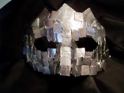 Lady Gaga mirror mask tutorial (ita)