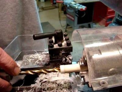 Making the body of a Kitless Casein Pen