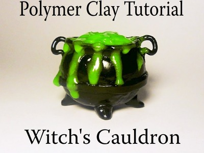 Polymer Clay Bubbling Cauldron Tutorial