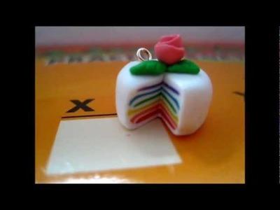 Polymer-Clay Cake Tutorial