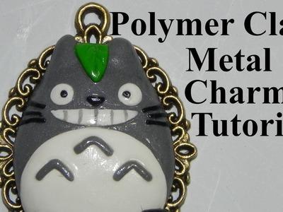 Polymer Clay Metal Charm Tutorial