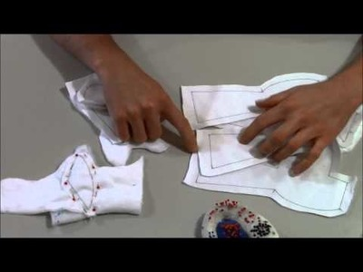 Pony Sewing Tutorial 1: Tracing, Cutting, Ear