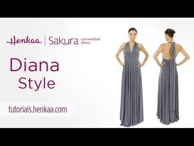 Sakura Convertible Dress - Diana Style Tutorial