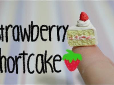 Strawberry Shortcake Tutorial (Polymer Clay)
