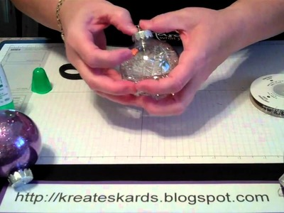 Using Stampin' Up! Products to create Christmas Ornaments - KreatesKards Tutorial: