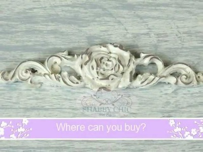 (2) Shabby Chic by Sam Mouldings & Appliques ~ Vintage Coco 2