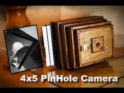 Build a 4x5 Pinhole Camera - Part 8