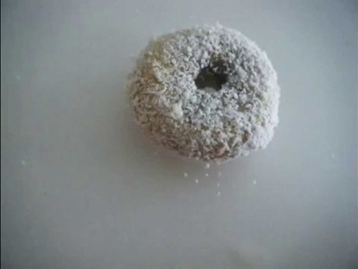 Coconut donut (Fast Polymer Clay Tutorial)