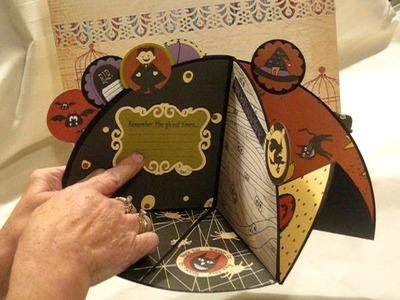 Exploding Circle Book