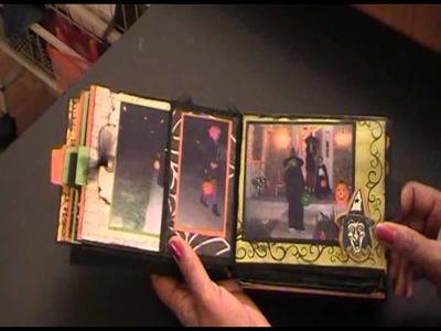 """Halloween Paper Bag  Mini Album """