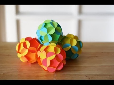 How To: Make A Paper Ball In A Few Easy Steps