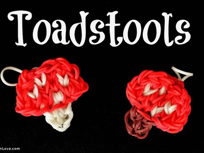 How to Make a Rainbow Loom Toadstool Charm