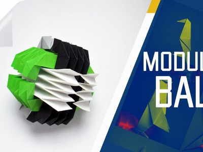 Origami - How To Make An Origami Modular Ball (Fumiaki Kawahata)