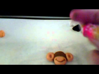 Polymer clay how to: a monkey