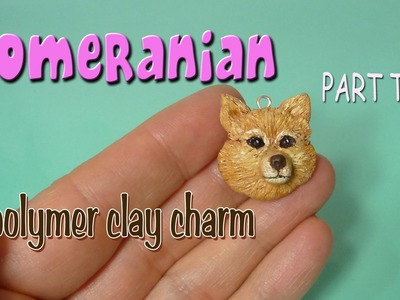 Pomeranian Polymer Clay Charm PART TWO