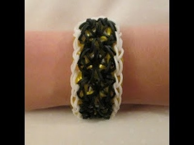 Rainbow Loom- How to Make an Enchanted Bracelet (Original Design)