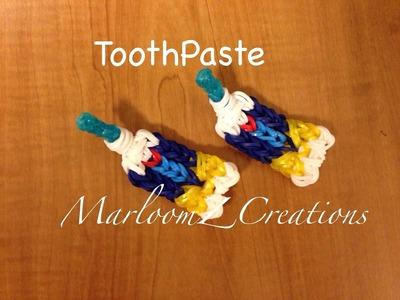 Rainbow Loom Toothpaste