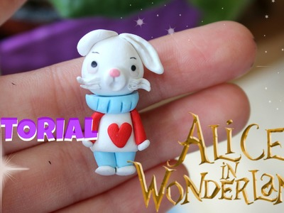 Tutorial Bianconiglio ♥ The white rabbit ♥ Polymer Clay fimo