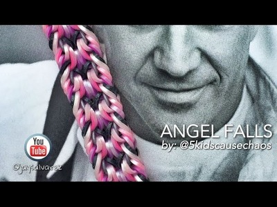 ANGEL FALLS Hook Only bracelet tutorial