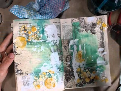 Art Journaling with Paintables with Limor Webber