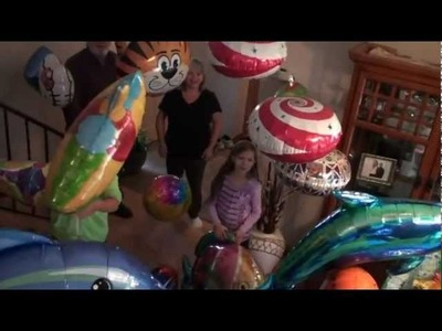 Best Party Decorations in the World! Fantastic Floatables Space Pets & Super Saucer Toy Balloons