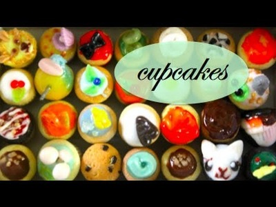 Cupcakes ♫ Newest Polymer Clay Creations