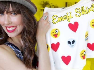 D.I.Y. Emoji Skirt