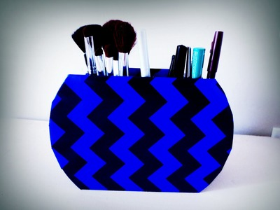 DIY: Makeup Brush Holder (costs almost nothing)