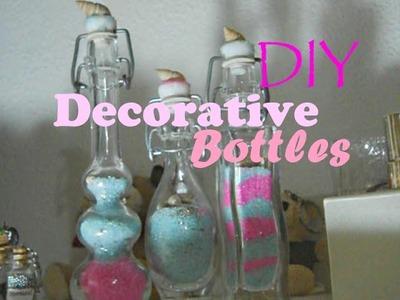 DIY Room Decor ♥ Decorative Glass Bottles ♥ Easy, Cheap & Cute | FairyFashionArt