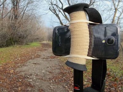 DIY Trekking Pole Camera Mount - Quick & Easy!
