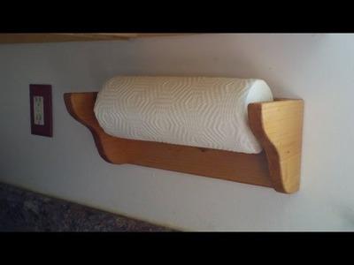 Ep.73 Paper Towel Holder