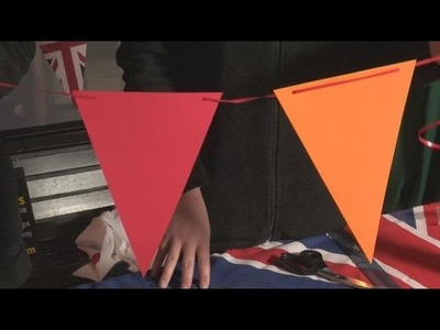 How To Create Paper Bunting