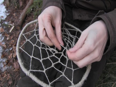 How To Make A Bushcraft Dreamcatcher