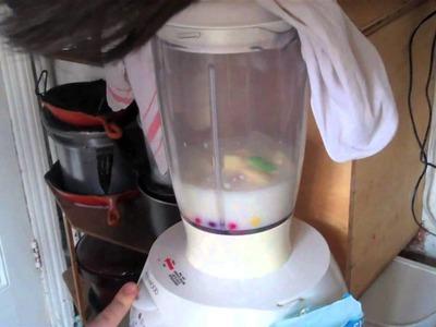 How to make a delicous skittles milkshake