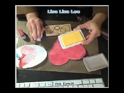 How To Make a Heart Shaped Poem Book ( Lisa Fulmer )
