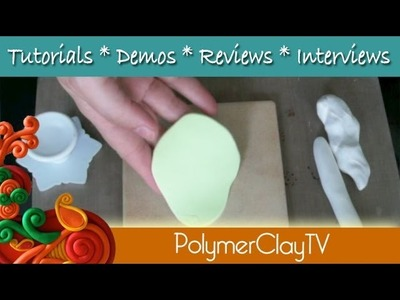 How to make a Lotus Flower Floating Candleholder from Polymer Clay
