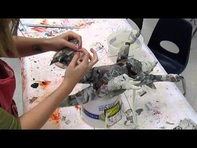 How to Make a Paper Mache Alebrije: Step Three