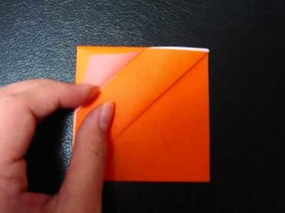 How to Make an Origami Jack-o'-Lantern (Not suitable for beginners)