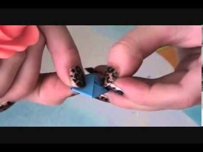 How to make Paper Wish Stars  Origami