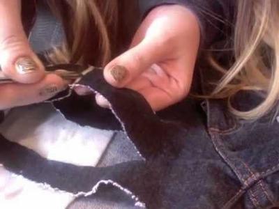 How to make shredded denim shorts! TUMBLR