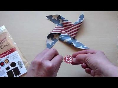 Making a Pinwheel Bouquet
