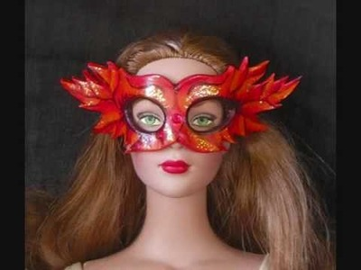 "Masquerade Mask for 16"" Fashion Dolls"