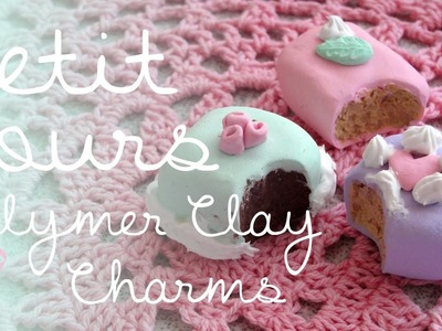 ❖Petit Fours◆Polymer Clay Tutorial❖