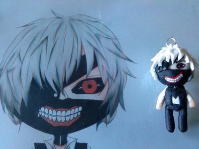 Polymer Clay Chibi Kaneki from Tokyo Ghoul Tutorial