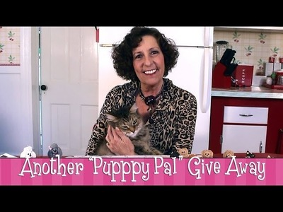 """Polymer Clay German Shepherd - Another """"Puppy Pal"""" Give Away!"""