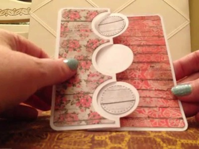 Sizzix Triple Circle Flip-It Dies and Cards