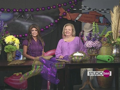 Studio10: Do it yourself decorations for Mardi Gras