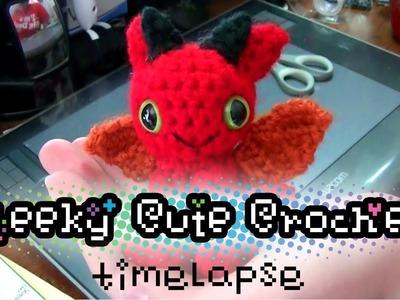 Timelapse - Making a Dragon Amigurumi