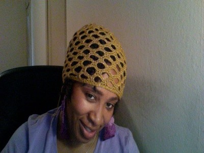 Tutorial Tuesday #35 honey comb hat  Part 2